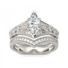 marquise cut wedding set jeulia milgrain marquise cut created white sapphire wedding set