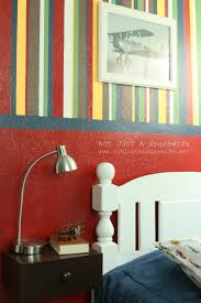 lc design striped bedroom walls my mom was awesome enough to help