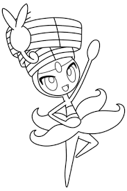 meloetta pokemon coloring free printable coloring pages