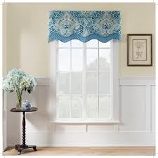Modern Valances For Living Room by Hall Coordinating Window Valances With Small Brown Wooden