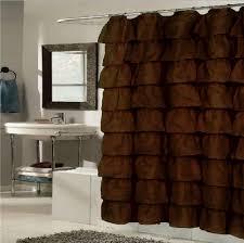 Cynthia Rowley Ruffle Shower Curtain Ruffled Shower Curtains Shower Curtains Outlet