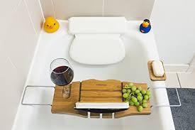 adjustable bathtub caddy wooden bath caddy over bathtub shelf with a wine glass holder and
