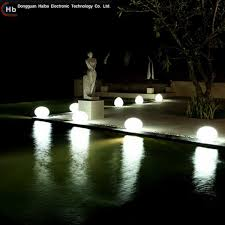 Colour Changing Solar Garden Lights - haiba led rgb crystal magic ball event lighting colour changing