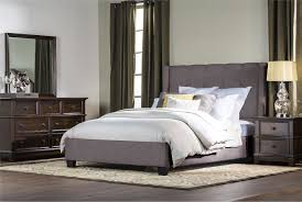King Upholstered Platform Bed Damon California King Upholstered Platform Bed Living Spaces