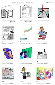 printable instructions classroom classroom commands instructions worksheet for teachers