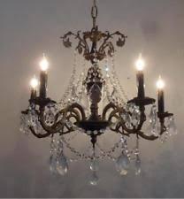 Brass Antique Chandelier Antique French Chandelier Ebay