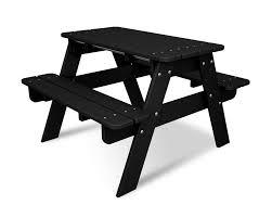 polywood kids rectangular picnic table u0026 reviews wayfair