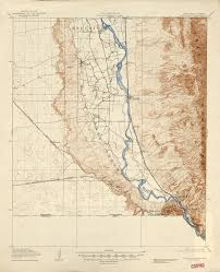 Arizona Elevation Map by
