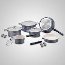 batterie de cuisine ceramique batterie de cuisine de 14 pièces en céramique 18