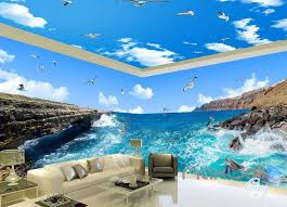 wallpaper for entire wall 3d reef sea view bird entire room wallpaper wall mural art prints