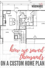 custom home plan hiring a draftsman how we saved thousands on a custom home plan