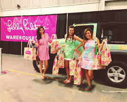 lilly pulitzer warehouse sale the lilly pulitzer warehouse sale says