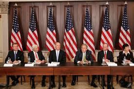 The Cabinet In Government President Bush Meets With Former Cabinet Secretaries And Senior