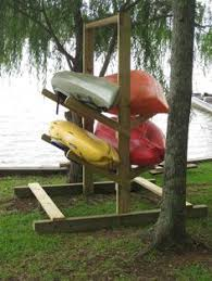 Free Standing Kayak Storage Rack Plans by Ultimate Kayak Racks 2 Kayak 2 Sup Our Little Space