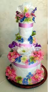 towel cakes how to make a towel cake for showers and weddings showers and