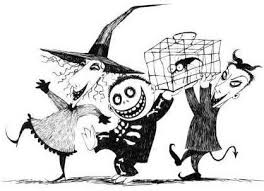58 best nightmare before christmas coloring pages images on