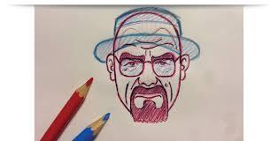 breaking bad heisenberg character illustration lucky dusa