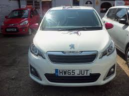 peugeot 108 used cars for sale used 2015 peugeot 108 puretech allure 3dr for sale in brighton