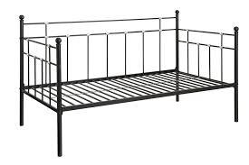 dhp furniture hayley metal daybed black