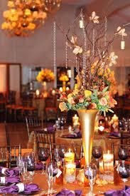 25 centerpieces for fall weddings copper beech