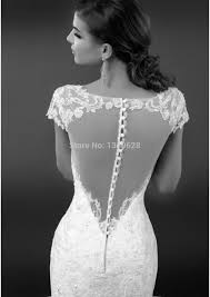 vintage lace top wedding dresses hs 004 vintage cap sleeves fitted torso lace top illusion covered