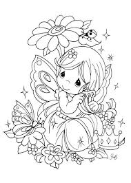 precious moments coloring pages sun flower pages
