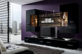 Wohnzimmerschrank Hochwertig Erstaunlich Wohnzimmer Wohnwand Hochglanz Schwarz Weia Poco