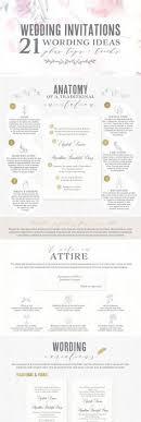 wording on wedding invitation 21 best wedding invitation wording ideas wedding etiquette