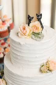 cat wedding cake topper classic wedding at the lesner inn hton roads
