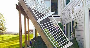 How To Build A Deck Handrail What Are The Warning Signs Of A Dangerous Deck