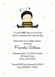 bumble bee invitations baby shower cimvitation