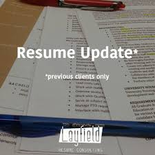 Resume Update Services U2014 Layfield Resume Consulting