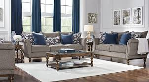 cindy crawford living room sets cindy crawford home chatham place slate 8 pc living room living