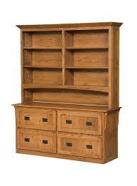 Arts And Craft Bookcase Four Drawer Arts And Crafts Lateral File Cabinet With Bookcase