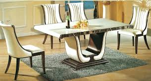 Dining Room Table Sets Leather Chairs by Marble Table Dining Room Sets U2013 Mitventures Co