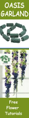 floral foam florist supply for weddings hanging garland learn