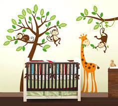 Jungle Wall Decal For Nursery Boys Nursery Wall Decals Gutesleben