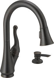 delta faucet 16968 rbsd dst talbott single handle pull down