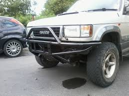 isuzu trooper owners club uk view topic new winch bumper