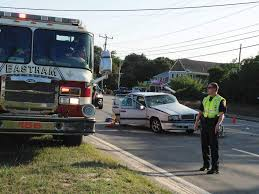 route 6 traffic slowed because of eastham crash