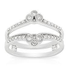 Wedding Ring Wraps by Diamond Insert Ring 14k From Ben Bridge Jewelers Looks Very