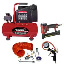 air compressor combo kit new portercable 6 gallon 150 psi air