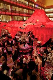 black and red party at lincoln center dejuan stroud inc event