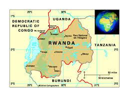 Rwanda Map Health In Rwanda