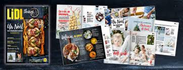 magazine cuisine gratuit gratuit recevez gratuitement le magazine des fêtes de lidl