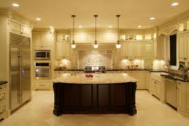 Traditional Kitchen by Kitchen Furniture Traditional Kitchen Cabinets With Subway Tile