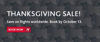 air canada thanksgiving worldwide tickets seat sale save on
