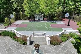 Backyard Sport Courts by 10 Long Island Homes For Sale With Over The Top Basketball Courts
