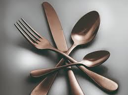 metal utensil set
