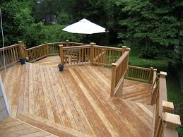 Cheap Backyard Deck Ideas Color Your Backyard With These Inspiring Deck Designs Outdoor